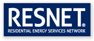 Resnet Logo Energy Efficient Incentives HERS Rater